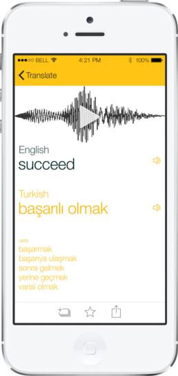 Lango universal translator app sound screen