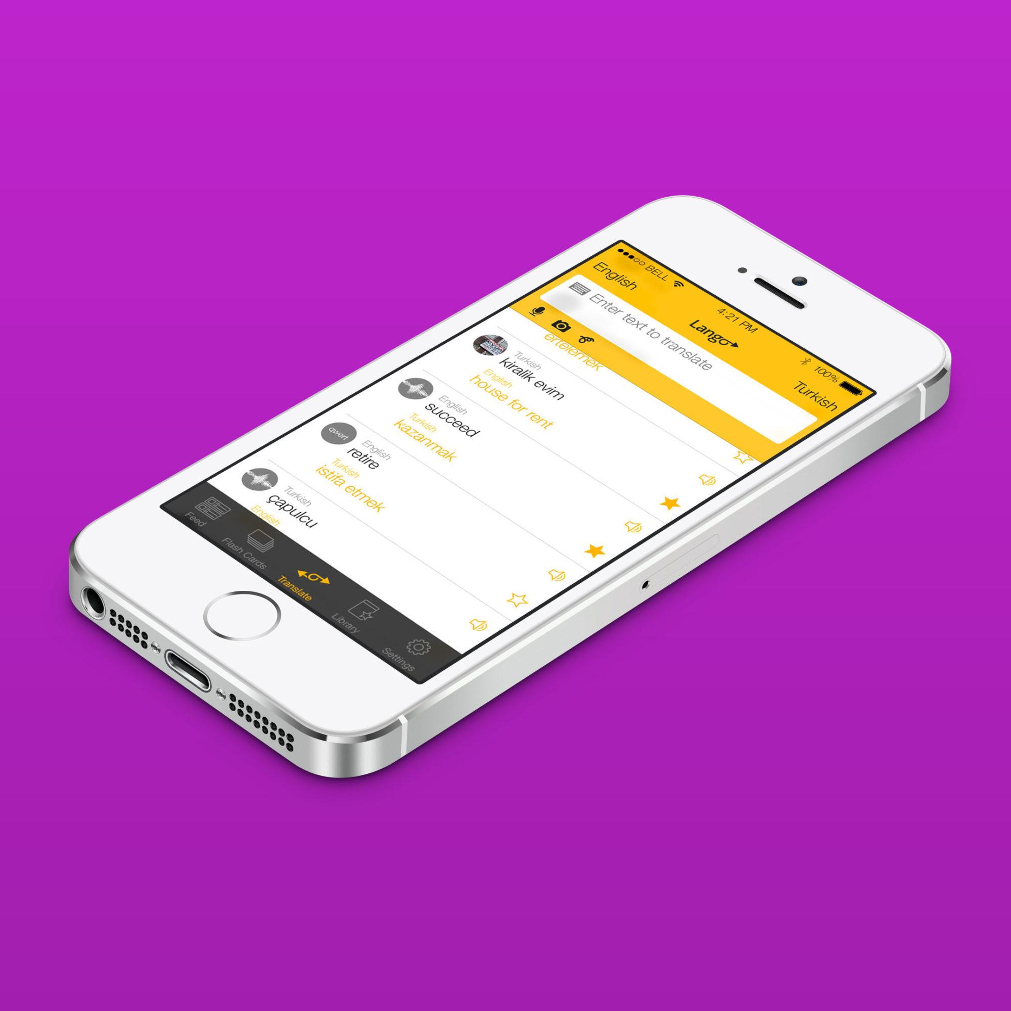 Lango universal translator app