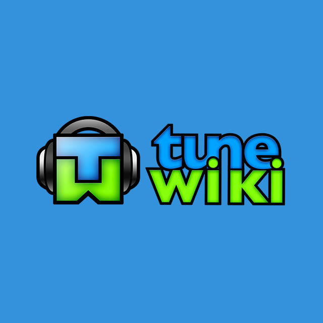 Tunewiki stacked logo design